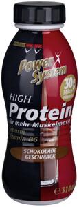 Power System High Protein Drink Schokolade Geschmack 310 ml