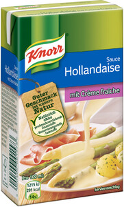 Knorr Sauce Hollandaise mit Creme Fraiche 250 ml