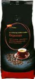 Naturland tegut...vom Feinsten Bio-Caffè Crema oder Bio-Espresso ganze Bohnen