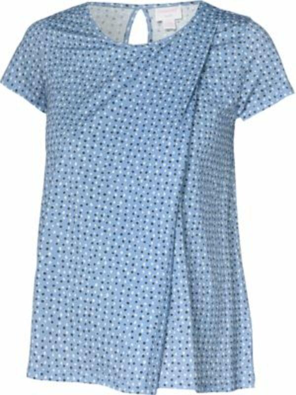 Umstandsshirt blau Gr. 38 Damen Kinder