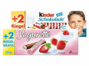 Kinder Schokolade/Yogurette