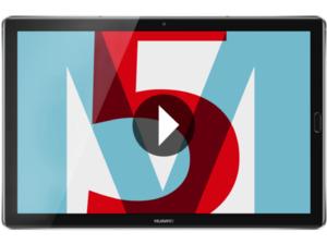 HUAWEI MediaPad M5, Tablet, 32 GB, 4 GB RAM, 10.8 Zoll, Android 8.0 Oreo, EMUI 8.0, Space Grey