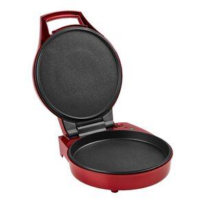 TEC STAR Pizzamaker MD 18219, 1800 Watt Leistung, für Pizzen bis zu 28 cm Ø, antihaftbeschichtete Backplatten
