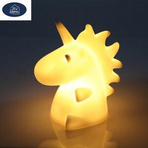 LED-Licht Einhorn 8,3x12x10cm Warmweiß