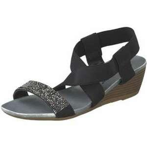 Claudia Ghizzani Sandale Damen schwarz