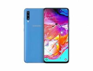 Samsung Smartphone A70, 128 GB ,  blau