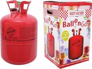 Party Factory Ballongas ,  Helium für ca. 50 Luftballons