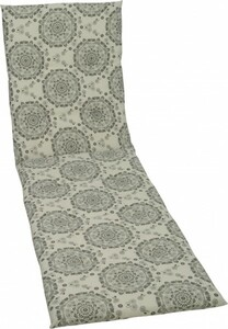 GO-DE Rollliegen-Auflage ,  190 x 58 x 5 cm, creme