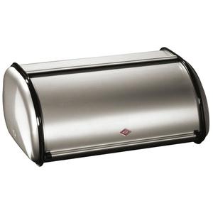 WESCO Brotkasten mit Rollklappe BREADBOX L Silber