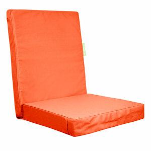 "Outbag              Gartenstuhlauflage ""High Rise Plus"", orange"
