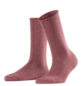 """FALKE             Socken """"Shiny"""", Rollrand, glänzend"""