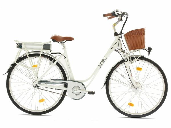 Llobe E-Bike City White Motion, 28 Zoll