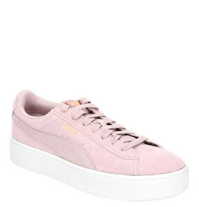 "PUMA             Sneaker ""Vikky Stacked SD"", Leder-Mix, Statement-Sohle"