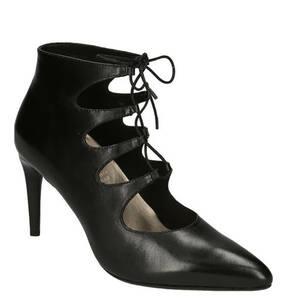 "tizian Shoes & Bags             Schnürpumps ""Mailand"", High Heels, Leder, Cut-Out-Optik, Pfennigabsatz"