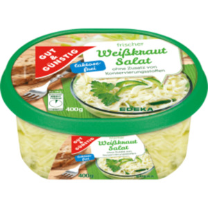 Gut & Günstig Frischer Weißkrautsalat