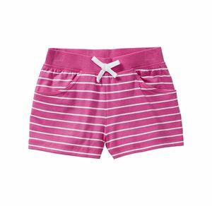 Kids Mädchen-Shorts mit Ringelmuster