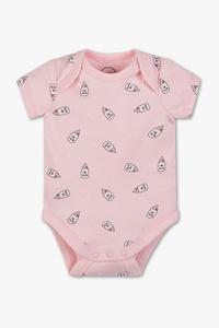 Baby Club         Baby-Body - Bio-Baumwolle - gepunktet