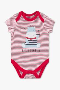 Baby Club         Baby-Body - Bio-Baumwolle - gestreift