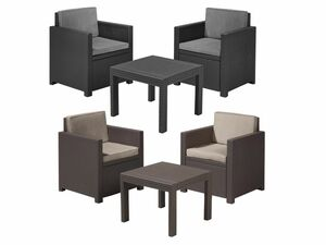 Allibert Balkon Lounge Set Victoria