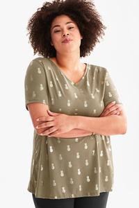 Yessica         T-Shirt - Glanz Effekt