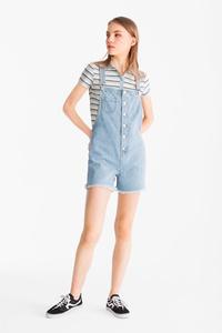 Clockhouse         Jeans-Latzshorts