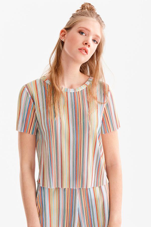 Clockhouse         T-Shirt - gestreift