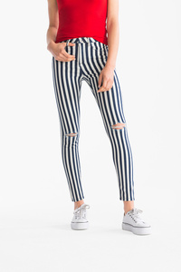 Clockhouse         THE JEGGING JEANS - gestreift