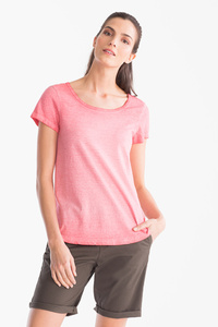The Basics         Basic-T-Shirt - gestreift