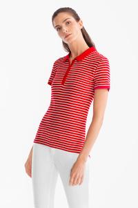 Yessica         Poloshirt - Bio-Baumwolle - gestreift
