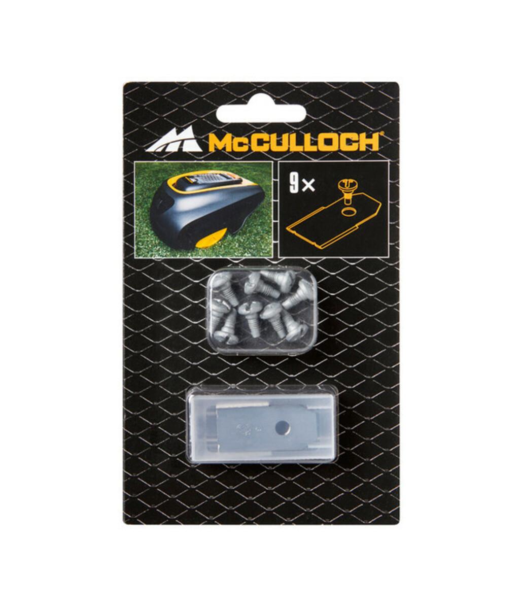 Bild 3 von McCulloch Ersatzmesser für Mähroboter, 9 Stück