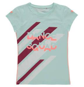 manguun sports             T-Shirt, Baumwoll-Mix, Print, für Mädchen