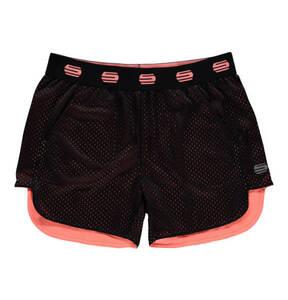 manguun sports             Shorts, atmungsaktiv, sportive, Label-Bund, für Mädchen