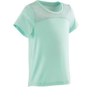 T-Shirt 500 Dry Babyturnen grün