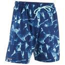 Bild 1 von Boardshorts Surfen Standard 100 Papercut blau