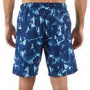 Bild 3 von Boardshorts Surfen Standard 100 Papercut blau