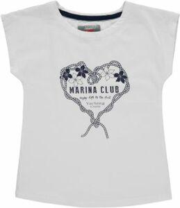 T-Shirt weiß Gr. 116 Mädchen Kinder