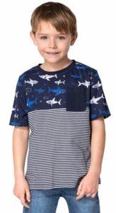 T-Shirt von ZAB kids blau Gr. 128/134 Jungen Kinder