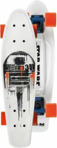 Skateboard R2D2 weiß