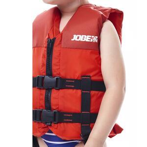 Auftriebsweste 50 N Scribble für Wassersport Kinder rot