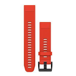Uhrenarmband für GPS-Uhr Fenix 5 rot Breite 22 mm