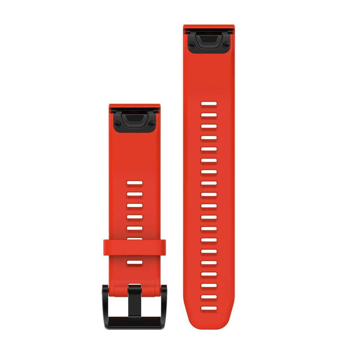 Bild 2 von Uhrenarmband für GPS-Uhr Fenix 5 rot Breite 22 mm