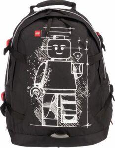 Freizeitrucksack LEGO Tech Teen Backpack Glow in the Dark schwarz