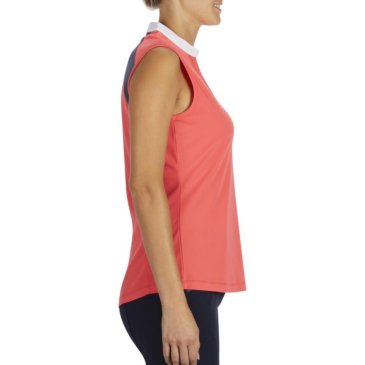 Bild 3 von Reit-Top 500 Mesh Damen rosa/grau