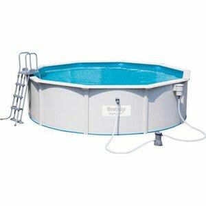 Bestway Hydrium Stahlwand Pool-Set Kartuschenfilter 460 cm x 120 cm