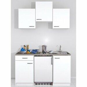 Flex-Well Classic Küchenzeile Wito 150 cm Weiß