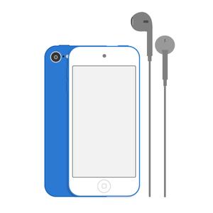 Apple iPod touch 7G 256GB (blau) 7. Generation
