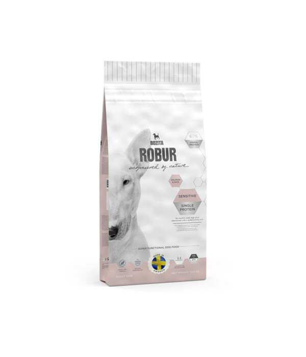 Bozita Robur Sensitive Single Protein Salmon, Trockenfutter