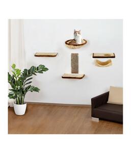 Silvio Design Katzen Kletterwand 6-teilig