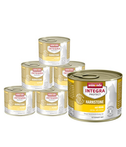 animonda Nassfutter Integra Protect Harnsteine, 6 x 200g