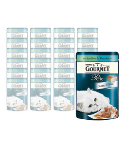 Gourmet Perle Duetto di Mare, Nassfutter, 24 x 85g